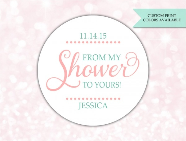 Baby Shower Soap Label Design