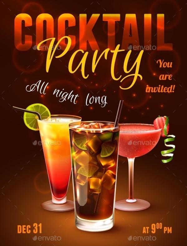 Bachelorette Cocktail Party Invitation Wording