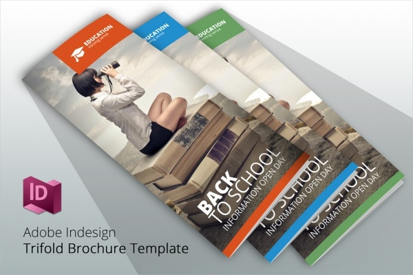 Back To School 3 Brochure Template