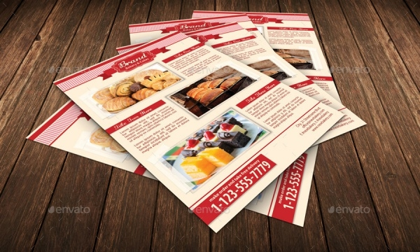 Bakery Food Flyer Template