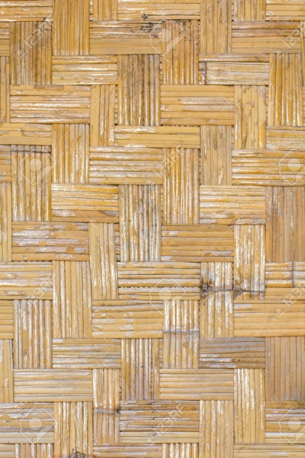 Bamboo Fabric Cane Texture