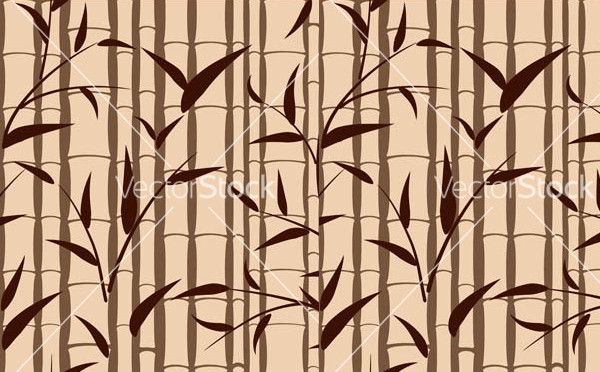 Bamboo Free Pattern Vector