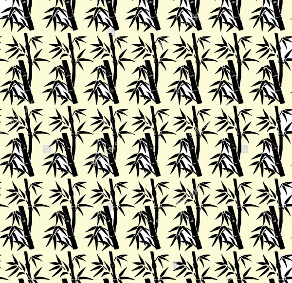 Bamboo Vector Illustration Pattern