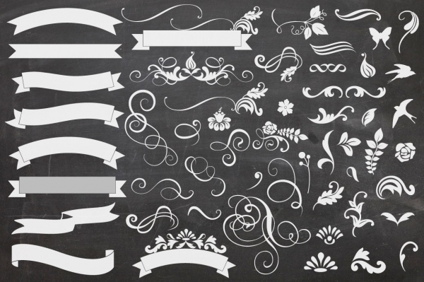 Banners And Curls Banner Brushes