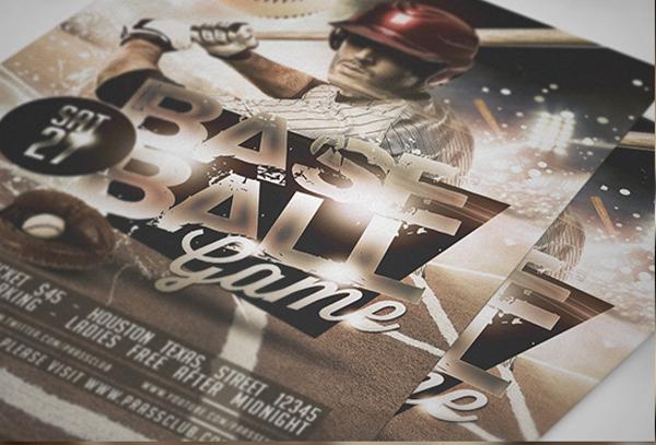 Baseball Champion Fans Flyer