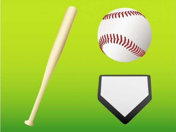 Baseball Gear Vector Graphics