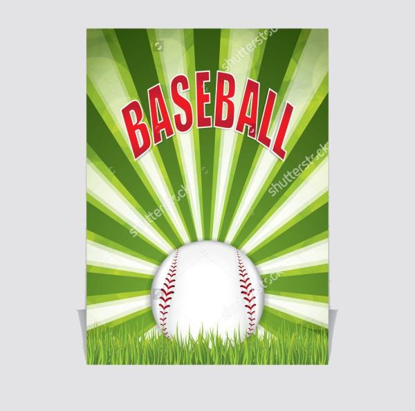 Baseball olympics Game Flyer
