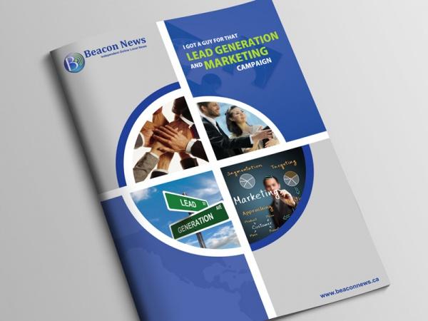 Beacon News Brochure Design