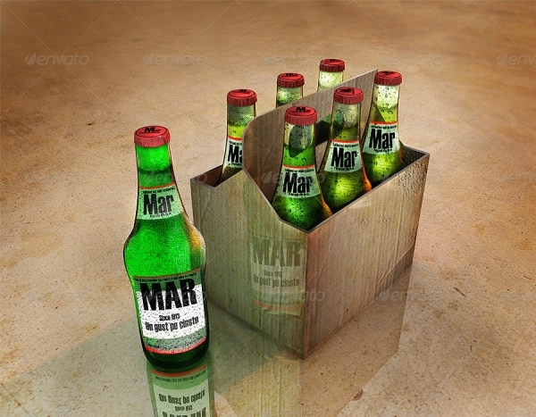 Beer Bottle & Package Design