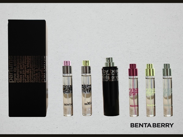 Benta Berry Perfume Packaging