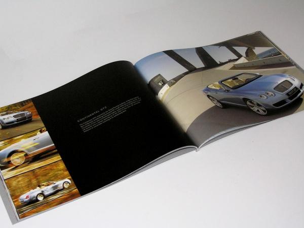 Bentley Car Brochure Design