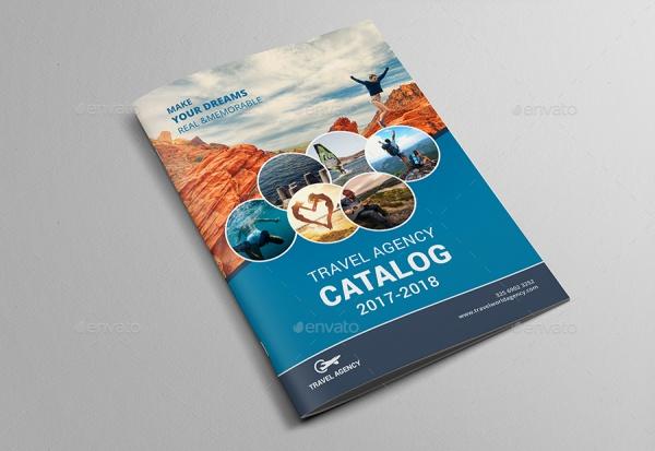 Bi Fold Brochure for Travel Agency