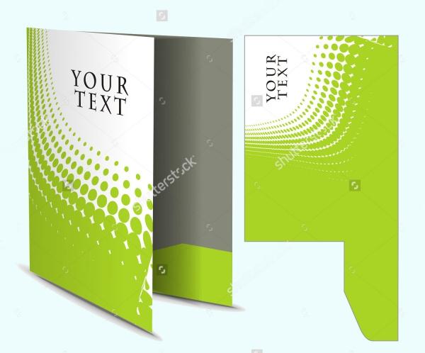 Bi-Fold Die Cut Brochure