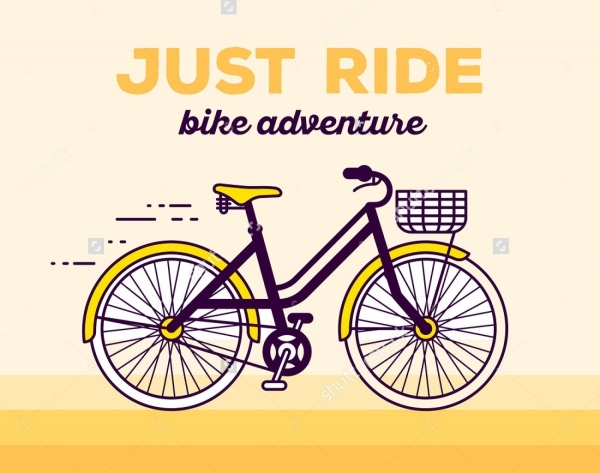 Bicycle Illustration Vector