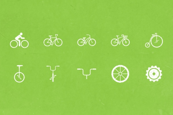 bike icons for download
