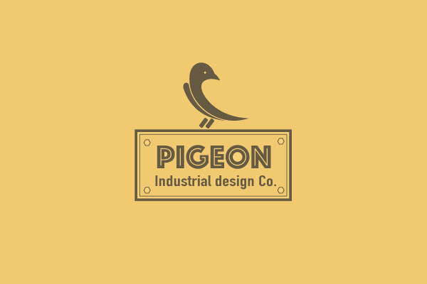 Bird Design Industrial Logo