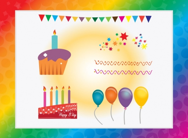 Birthday Celebration Graphic Vector