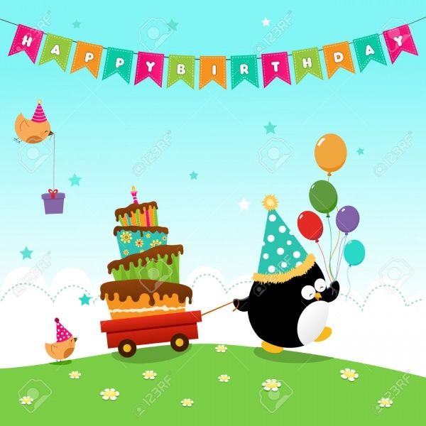 Birthday Cute Hat Vector
