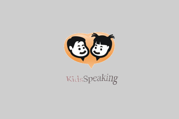 Black & Grey Kids Instant Logo