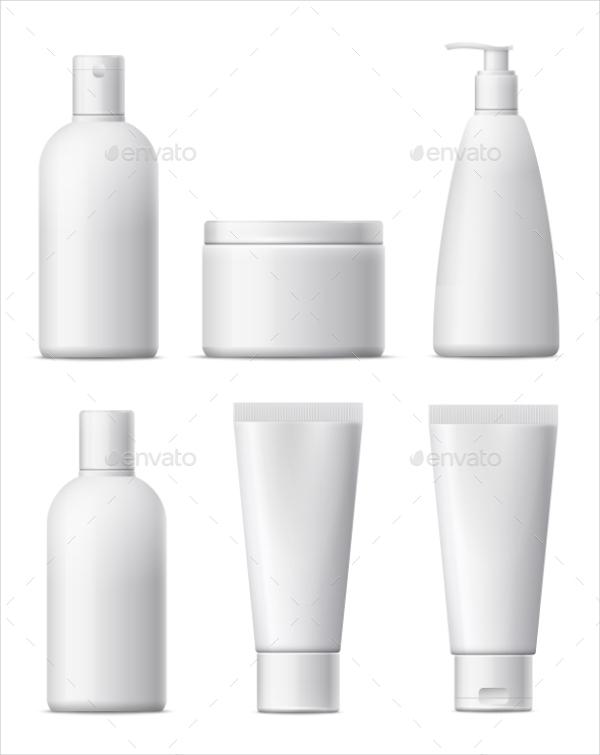 Blank Cosmetic Packaging