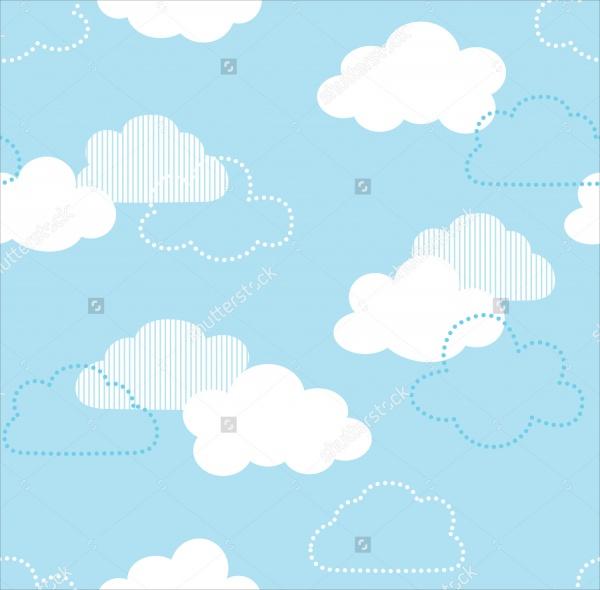 blue sky pattern design