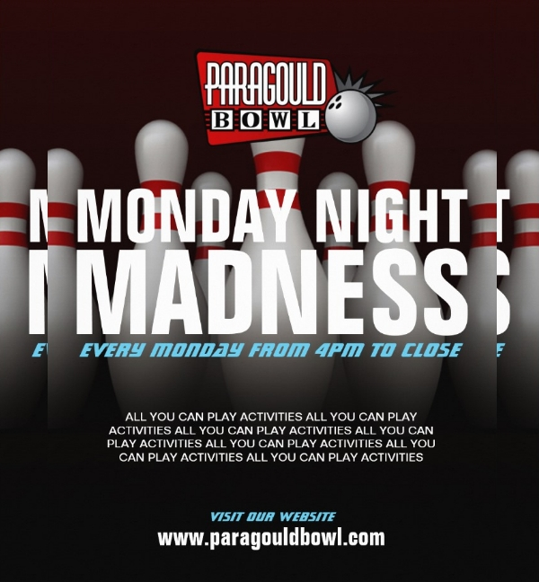 Bowling madness Flyer Template