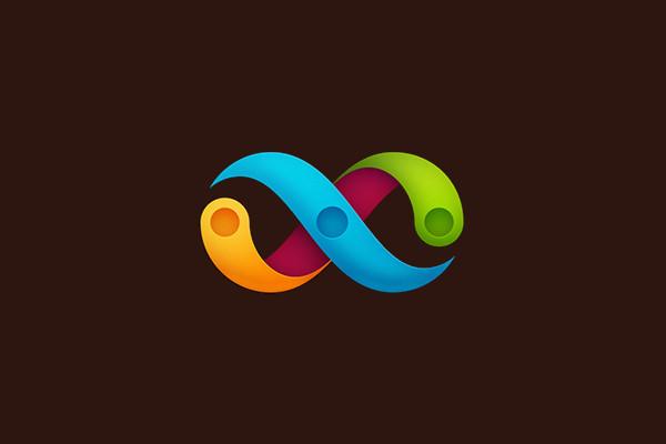 Branding Identity Infinite Logo