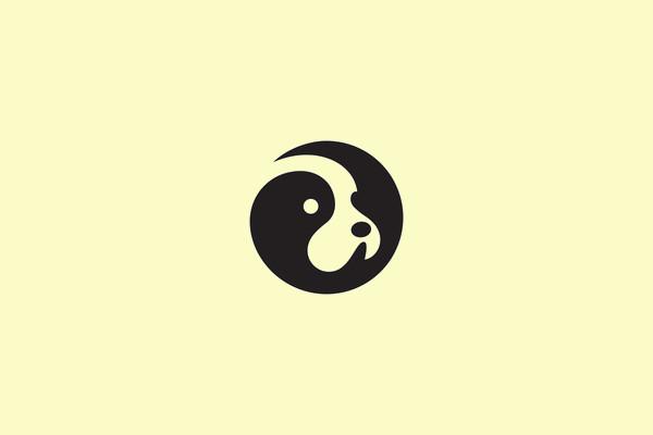 Branding Identity Negative Logo