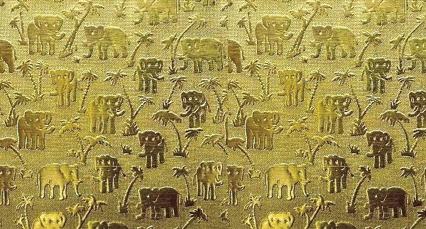 Brass Elephant Texture Plates