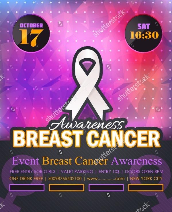 Breast Cancer Month Flyer