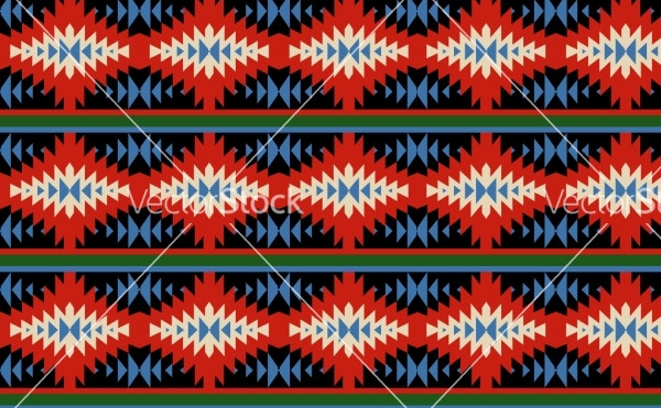 Bright Mexican Ornaments Pattern