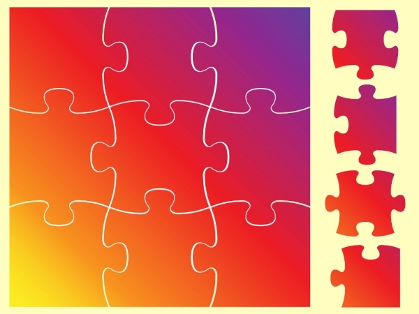 Brilliant Puzzle Vector Free