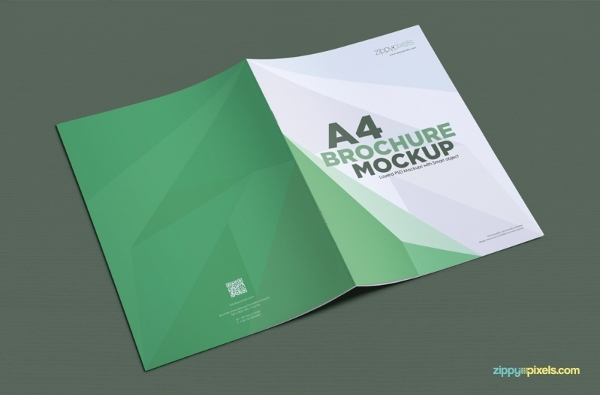 Brochure In Portrait Layout
