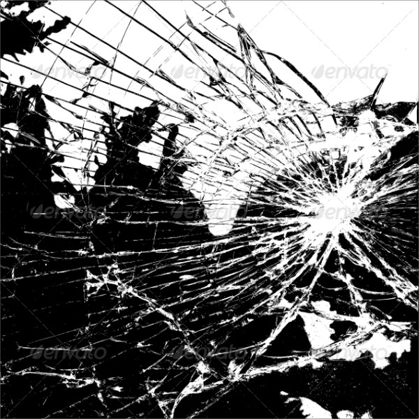 Broken Glass PSD Texture