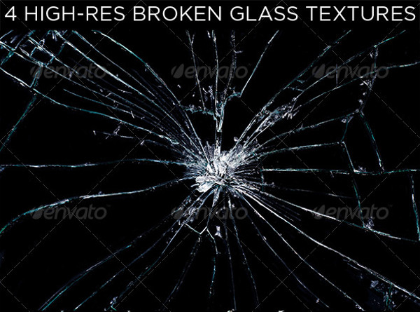 Broken Glass Seamless Texture