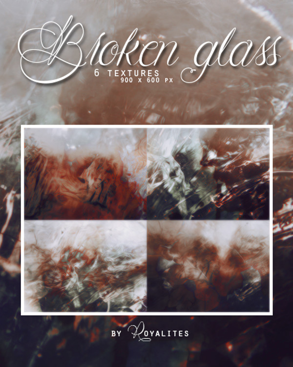 Broken Glass Texture Pack