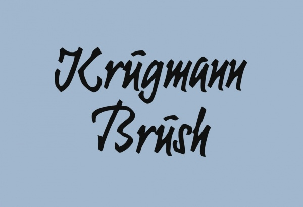 Brush Regular Bold Font
