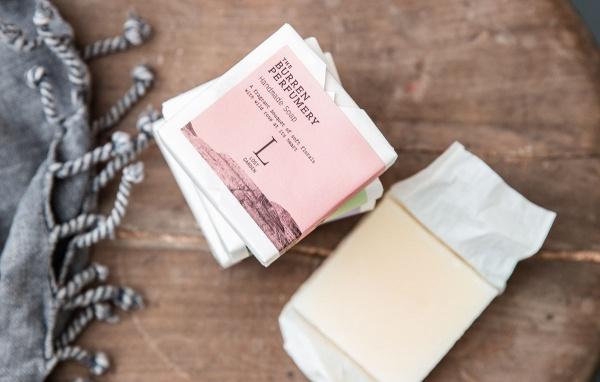 Burren Perfumery Packaging Design
