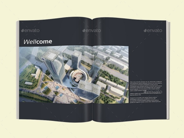 Business Blue Architecture Magazine