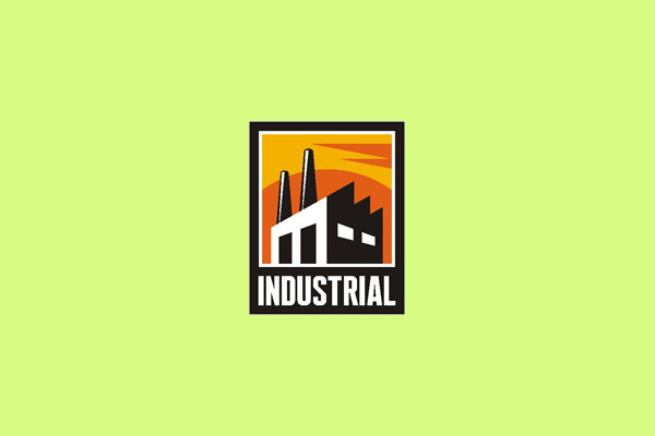Business Production Industrial Logo