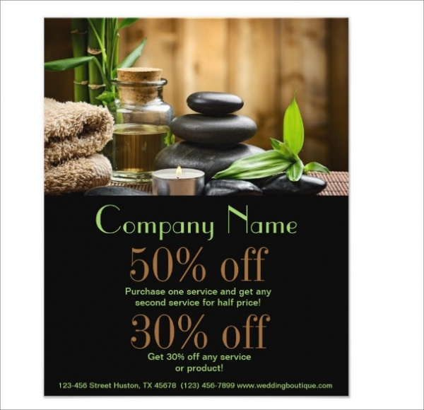 Business Products Salon flyers