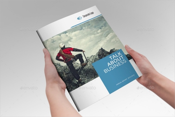 Business Report Financial Investment Brochure
