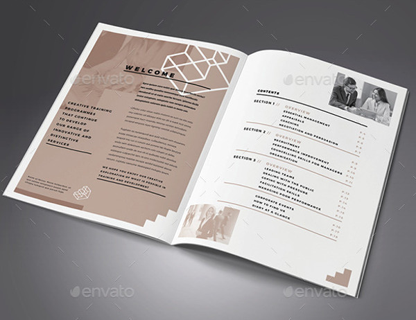 Business Training Brochure Design