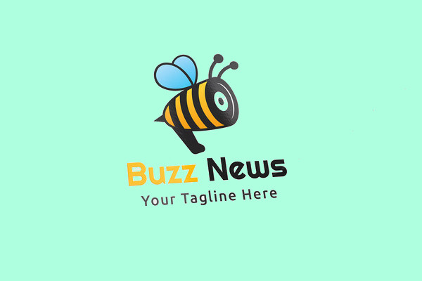 Buzz News Logo Design