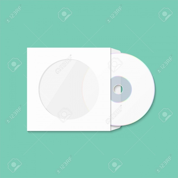 CD Cover Insulated Packaging Template
