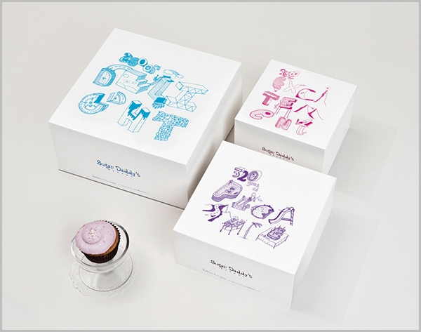 Cake Box Packaging Design