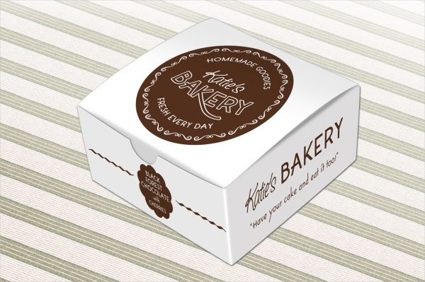 Cake Box Quick View Packaging