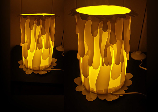 Candle Lampshade Mock-up