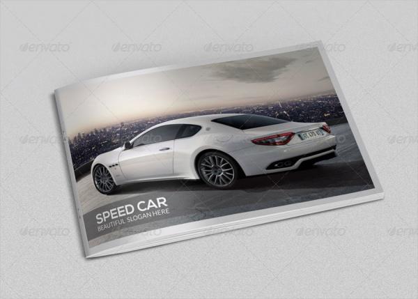 Car presentation Brochure Design