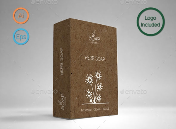 Cardboard Soap Packaging